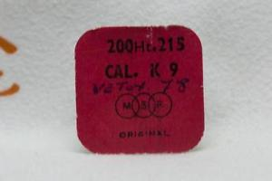 【送料無料】nos msr part no 200ht215 for calibre k 9 centre wheel