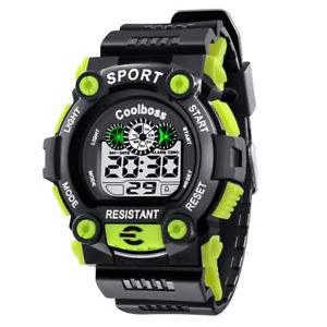 【送料無料】fashion men casual sport watch digital wristwatches led man watches waterpro