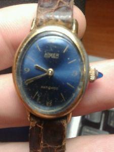 【送料無料】aimer orologio da donna lady carica manuale