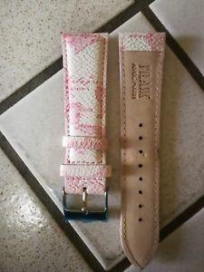 【送料無料】cinturino prima classe alviero martini misura 24mm rosa