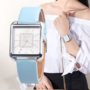 【送料無料】oktime classic watches women vintage square scale casual quartz watch ladies