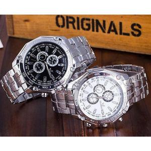 【送料無料】polso cinturino da orologio quarzo al in acciaio inox orologi uomo watch orlando