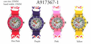 【送料無料】 kids rabbit tachymeter silicon wrist watch 30mm