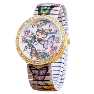 【送料無料】butterfly i love environment rare novelty watch quartz