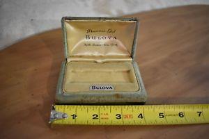 【送料無料】nice vintage bulova original american girl watch case display box usa ny