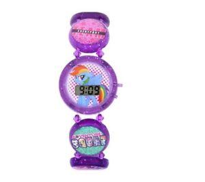【送料無料】 my little pony stretch bracelet lcd digital watch