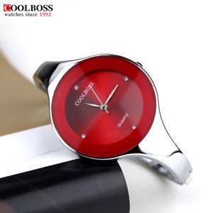 【送料無料】watch women coolboss luxury fashion casual quartz unique stylish bracelet watche