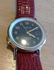 【送料無料】vintage carriage indglo by timex watch, running with battery nr b