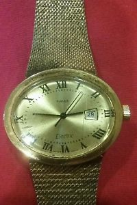 【送料無料】vintage timex electric watch