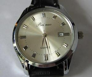 【送料無料】bei nuo quartz date watch
