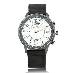 【送料無料】v6 supper speed fabric belt fashion casual analog quartz men wrist watch