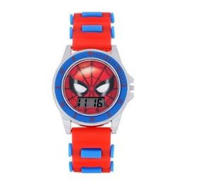 【送料無料】 marvel spiderman home coming lcd watch