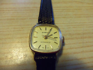 【送料無料】quemex antimagnetic women watch hand wind working