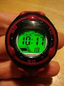 【送料無料】vintage terner sport digital watch, running w battery b