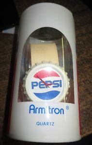 【送料無料】1988 pepsi wristwatch armitron mint in box rare