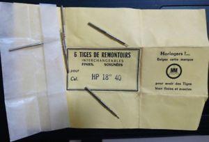 【送料無料】old watch part hp 18 40 5 tiges de remontoir part 401 5 winding stems