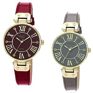 【送料無料】womens high class vintage elegant roman numeral fashion designer wrist watch