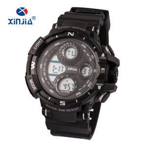 【送料無料】ds orologio xinjia xj872d crono digitale impermeabile military sport lac