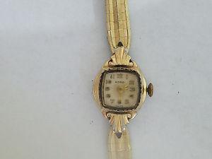 【送料無料】vintage kord 17j watch 5866