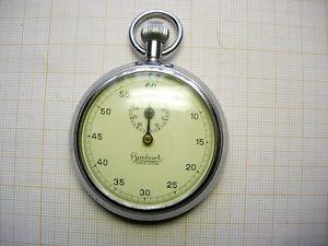【送料無料】chronographe compteurs hanhart chronograph watch gousset rally timer