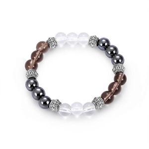 【送料無料】trendy 8mm buddha beads bracelet natural stone casual gradient beaded bracelet f