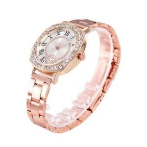 【送料無料】reloj relojes relogio ce cuarzo rosa de oro para mujeres de moda analgico