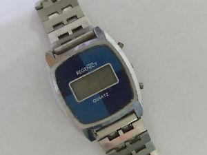 【送料無料】regenicy quartz wrist watch digital 7592