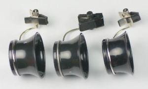 【送料無料】loupe eyeglass set spectacles glasses clip on 5x 33x 25x magnifier watchmakers