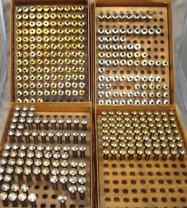 【送料無料】8mm collets for watchmakers lathe, nos