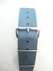 【送料無料】genuine phoenix straps mod natoraf uk 27 cms long admiralty grey 20mm