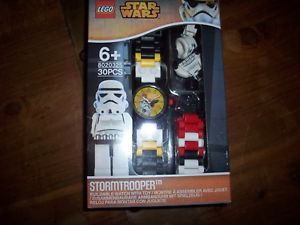 【送料無料】 star wars lego stormtrooper minifigure watch water resistant watch gift