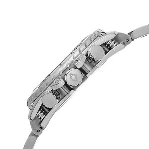 mens akribos xxiv ak639ss sport chronograph date stainless steel bracelet watch