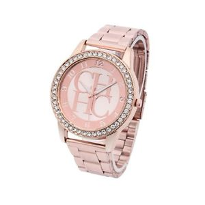 【送料無料】watches women full steel rhinestone quartz casual fashion lady wristwatch luxury