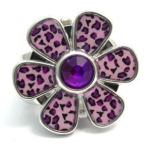 henley fashion ring watch  ladies girls 17  purple daisy