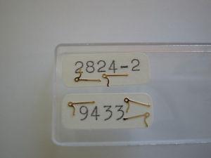 【送料無料】eta 28242, 28362, 28342, 28012 five units 9433 stop lever 56070 stopphebel