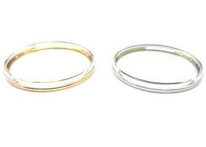 【送料無料】flat top plexi plastic watch crystal w tension ring