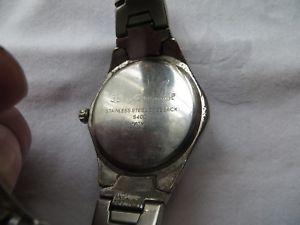 lovely vintage working mens ben sherman wristwatch 50m water resistant