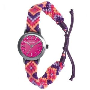 【送料無料】khnp klf0019l kahuna ladies stainless steel watch