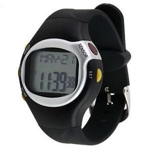 【送料無料】pulse heart rate monitor wrist watch calories counter sports fitness