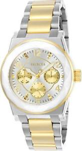【送料無料】invicta womens angel two tone stainless steel quartz watch 22259