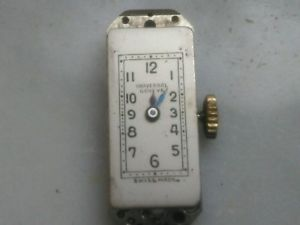 【送料無料】universal geneve movimento per orologio da polso per donna watch usato