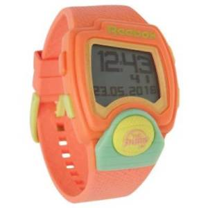 【送料無料】reebok digital pump up sport watch rrp 89 pinkorange blue