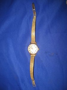 【送料無料】vintage montine swiss wrist watch 17 jewels incabloc switzerland working