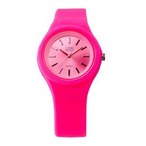 【送料無料】eton round case silicon strap fashion watch 2816