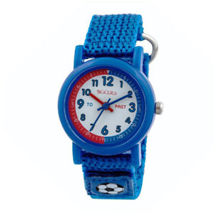 【送料無料】nb tikkers childrens time teacher webbing strap watch with rip strap tk0113tn