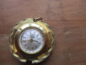 【送料無料】vintage  bvler  watch pendant for spares, non runner for spares