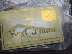 【送料無料】yves camani guarantee cardnos