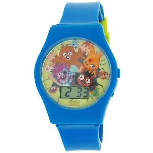 【送料無料】moshi monsters blue boys digital plastic strap watch mm018