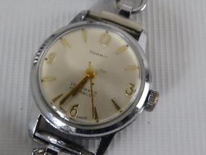 【送料無料】ref165du l ladies summit wristwatch working