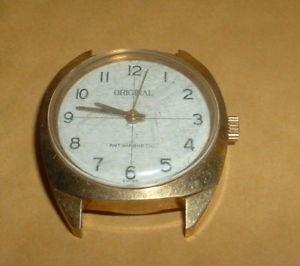 【送料無料】vintage original antimagnetic swiss wind up watch lot g13